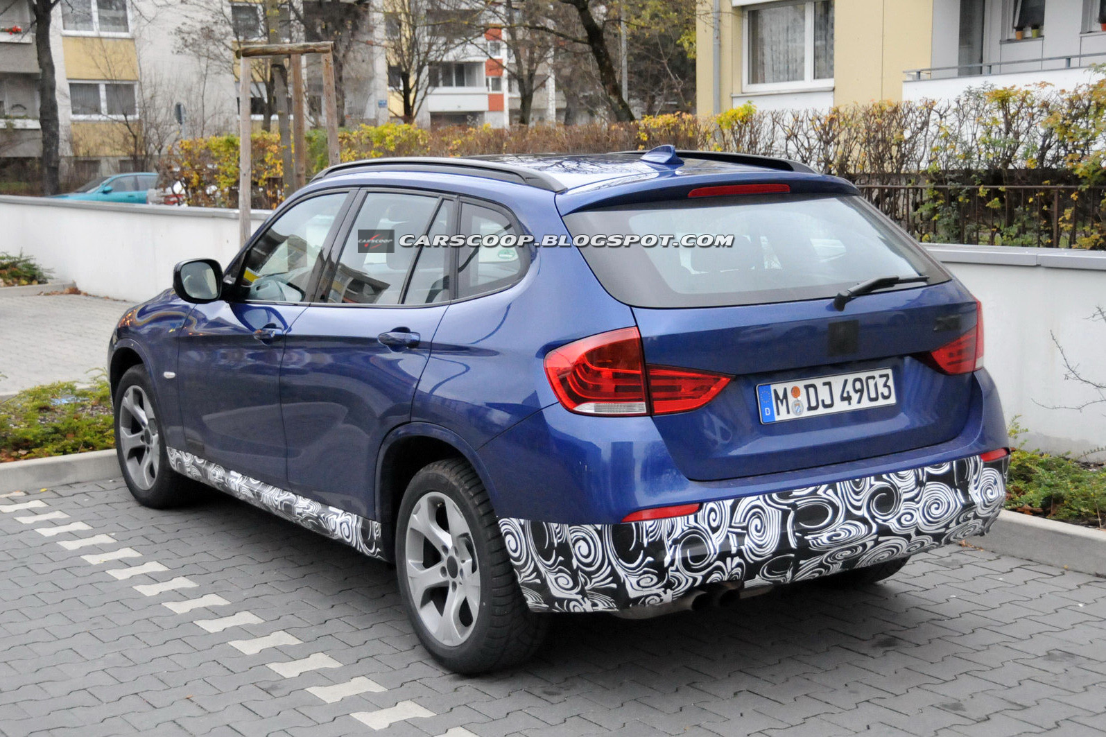 neue spyshots zum m paket f r den bmw x1 e84. Black Bedroom Furniture Sets. Home Design Ideas