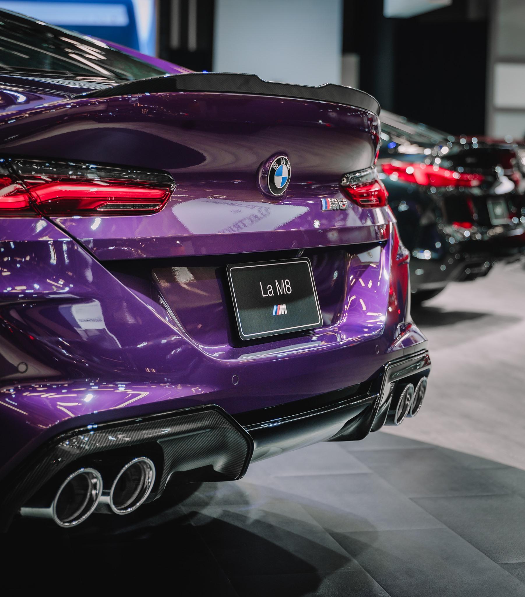 Twilight Purple Bmw M8 Gran Coupé Im Lila Individual Style