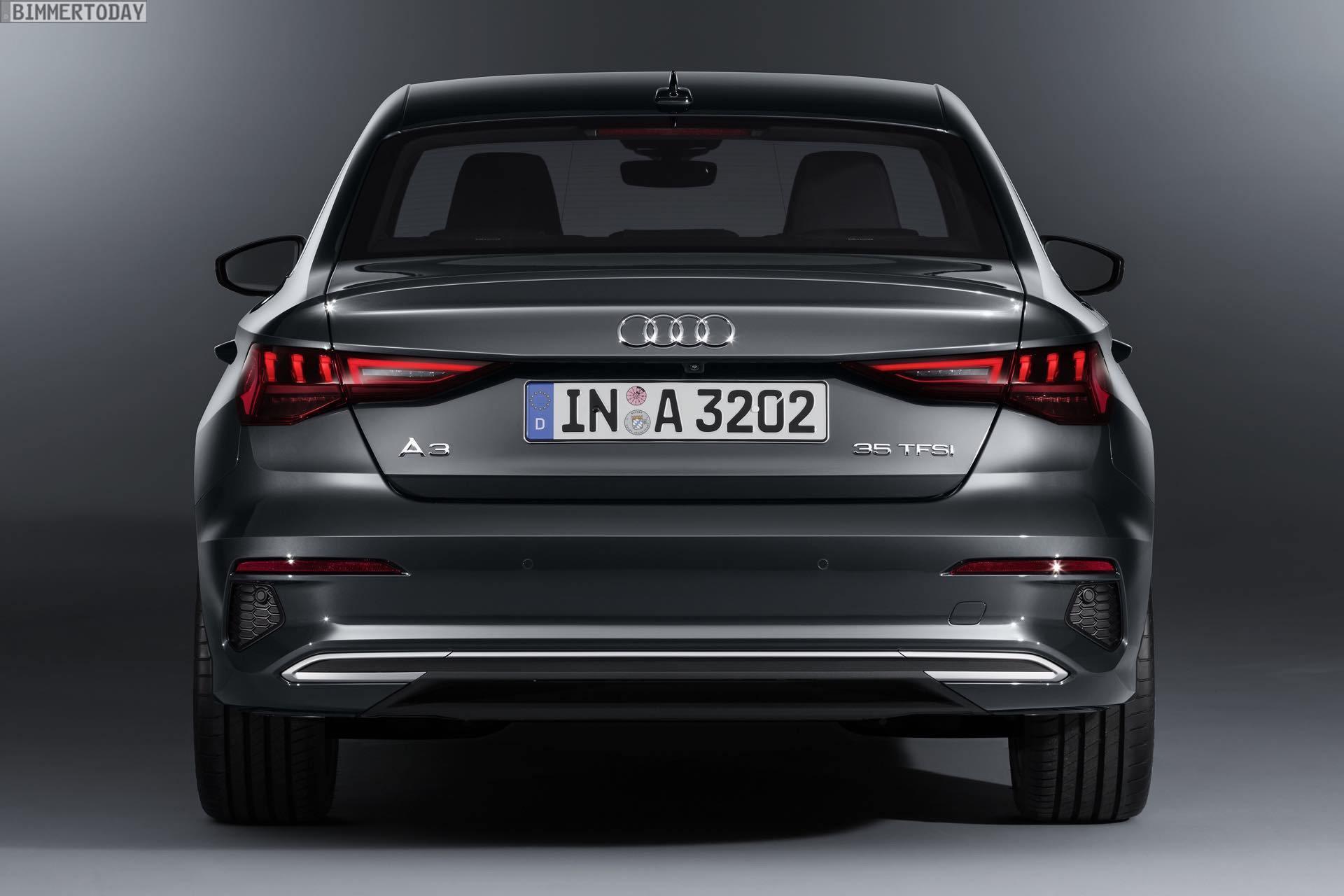 Bild Vergleich Bmw 2er Gran Coupe Trifft Audi A3 Limousine