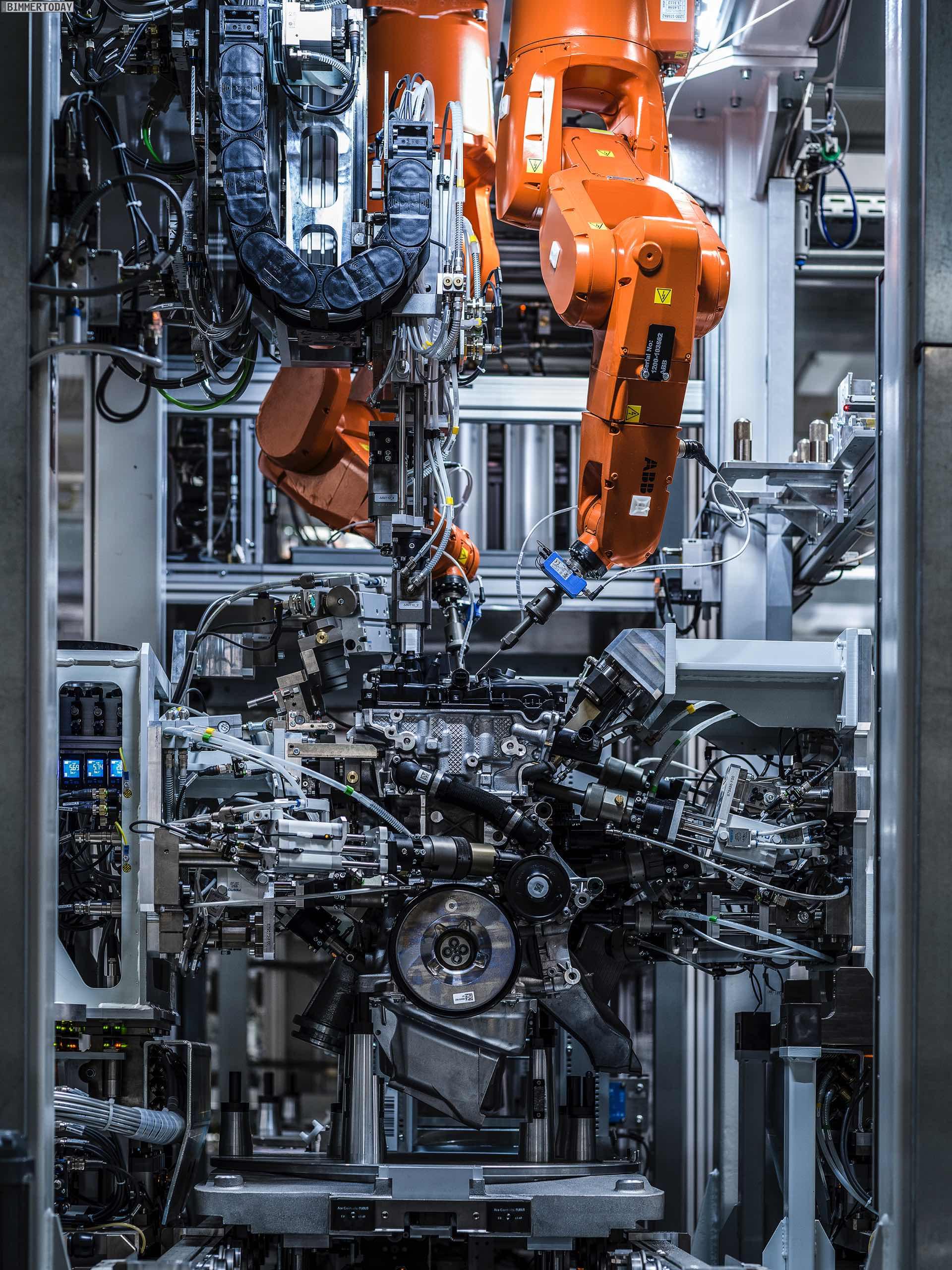 Bmw Werk Steyr 102 Millionen Euro Für Neue Benzin Motoren